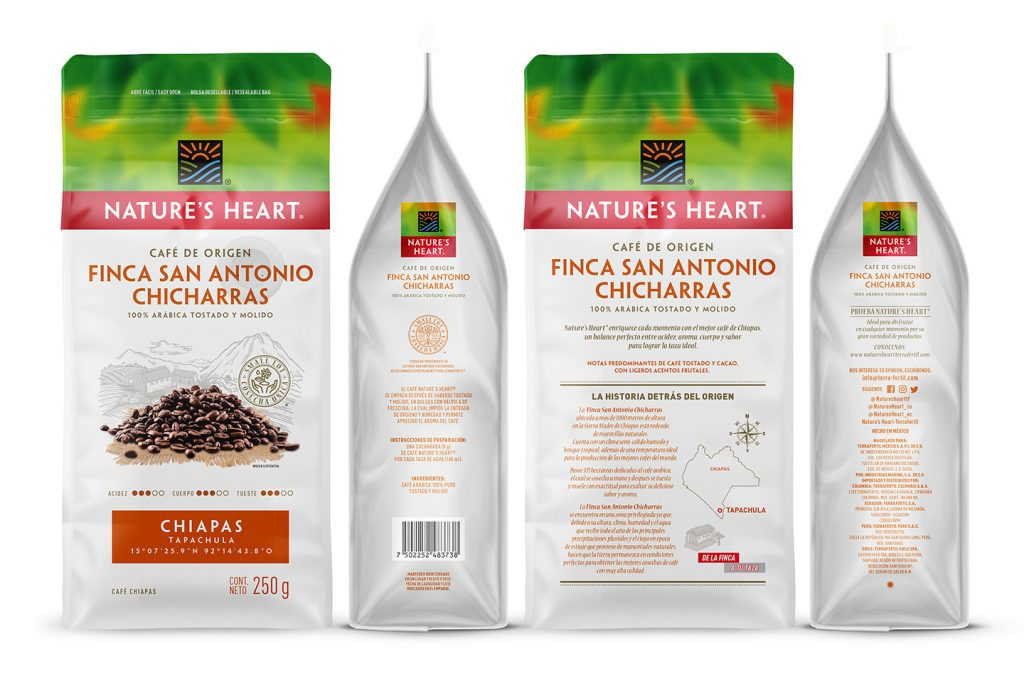 café nature's heart finca san antonio chicharras