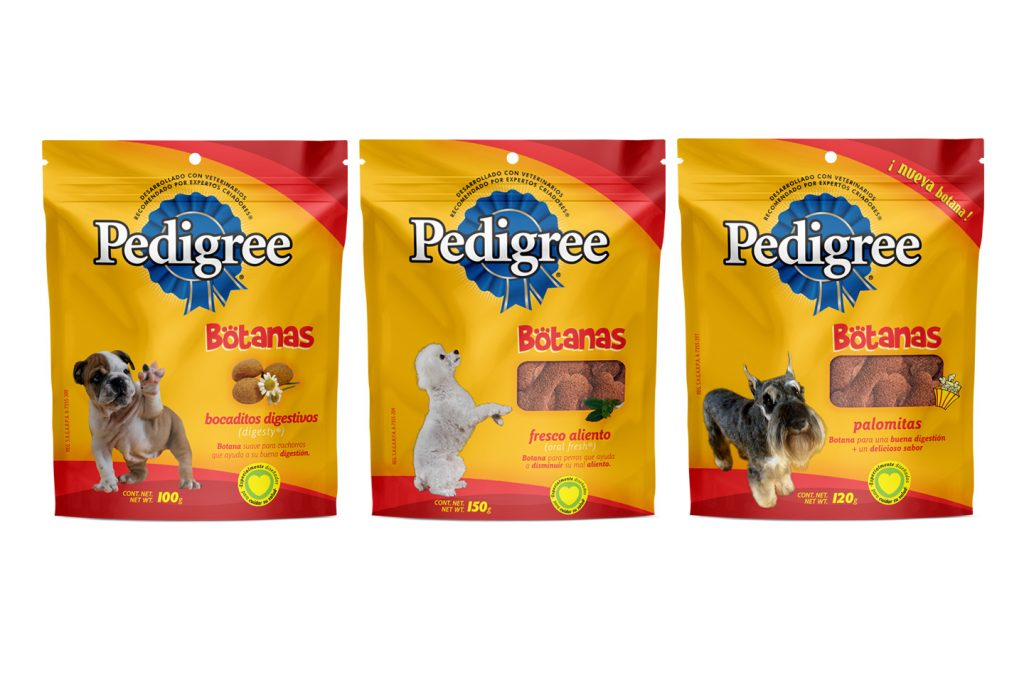 pedigree botanas