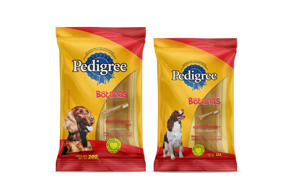pedigree botanas dentahueso