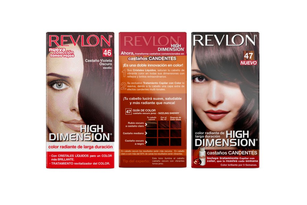 tinte revlon high dimension antes