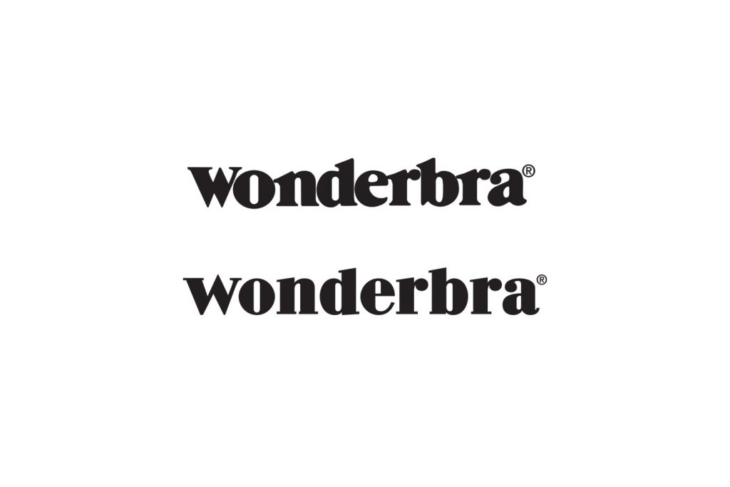 logo wonderbra antes y despues
