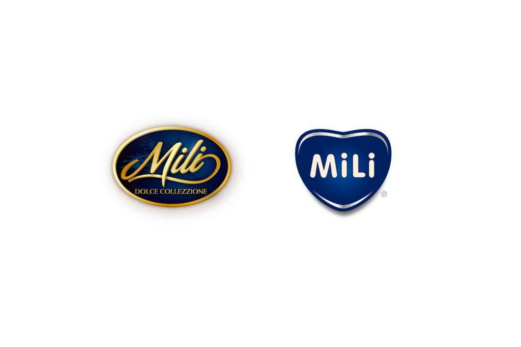 logo Mili antes y despues