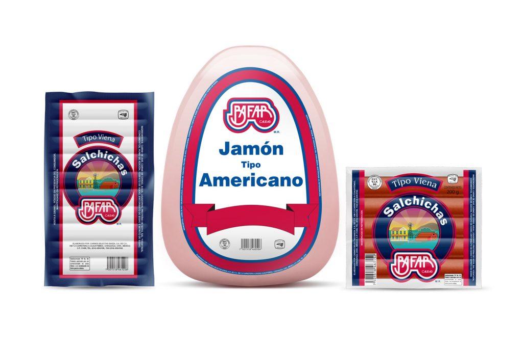 productos Bafar tipo americano antes