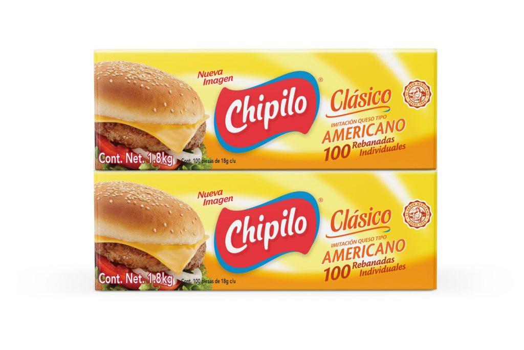 caja Chipilo rebanadas queso tipo americano