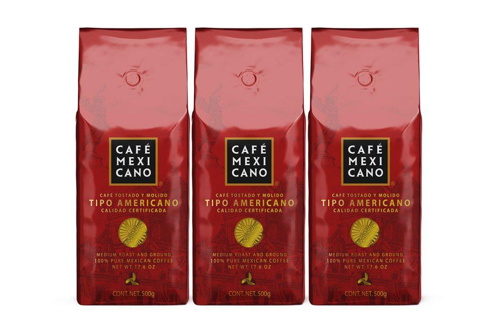 empaque cafe mexicano tipo americano