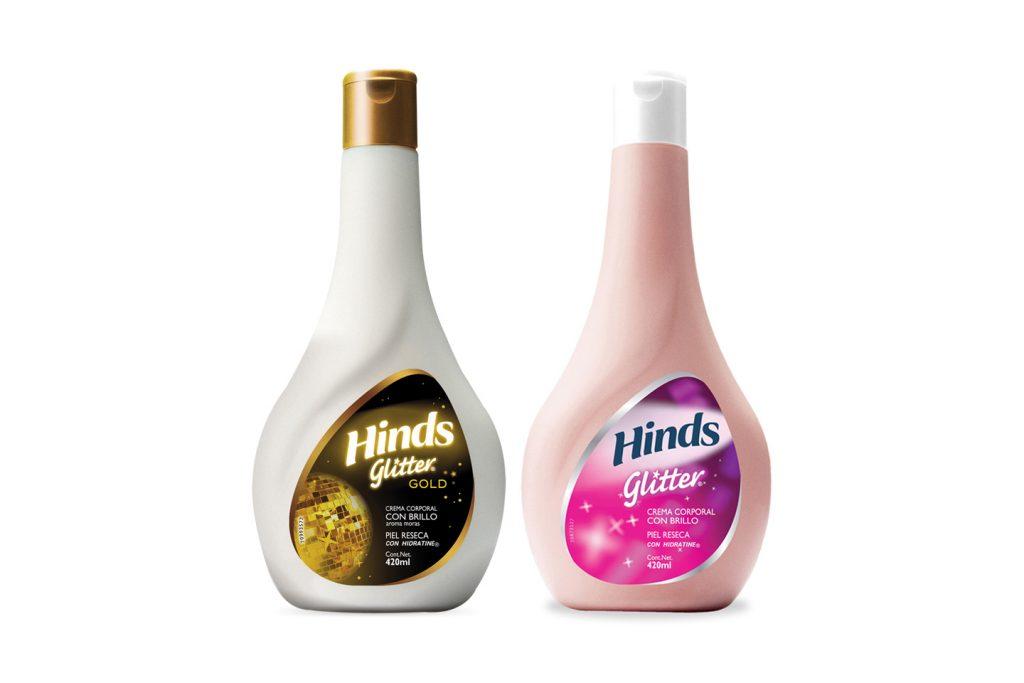 Hinds presentacion glitter