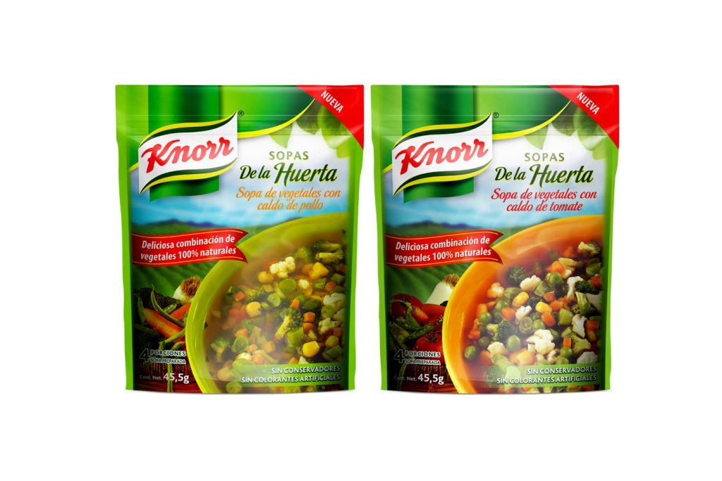 sopas de la huerta instantanea Knorr