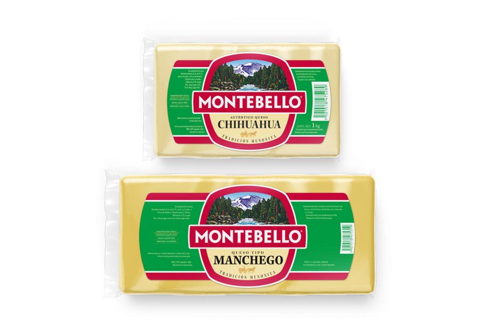 empaque queso rebanado montebello
