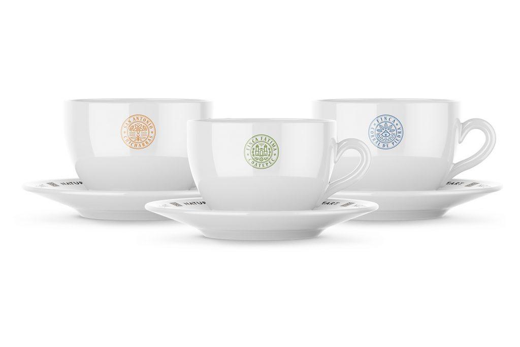 tazas para café nature's heart