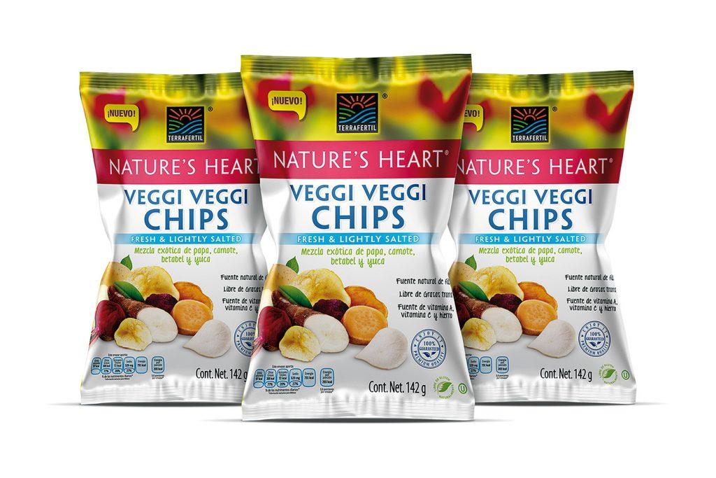 veggie chips naure's heart