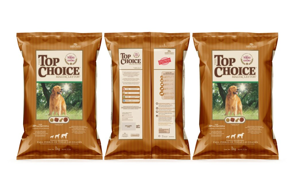 croquetas top choice 1kg