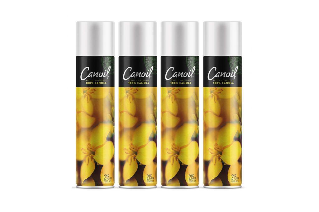 aceite en aerosol para cocinar canoil