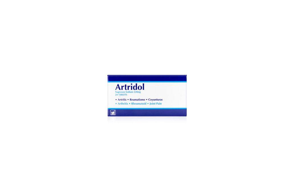 empaque anterior artridol