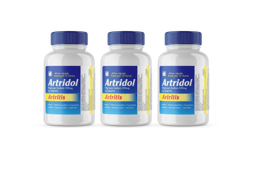 nuevo frasco artridol