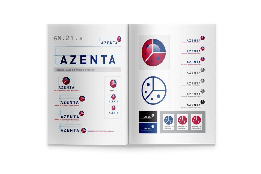 guia de marca Azenta