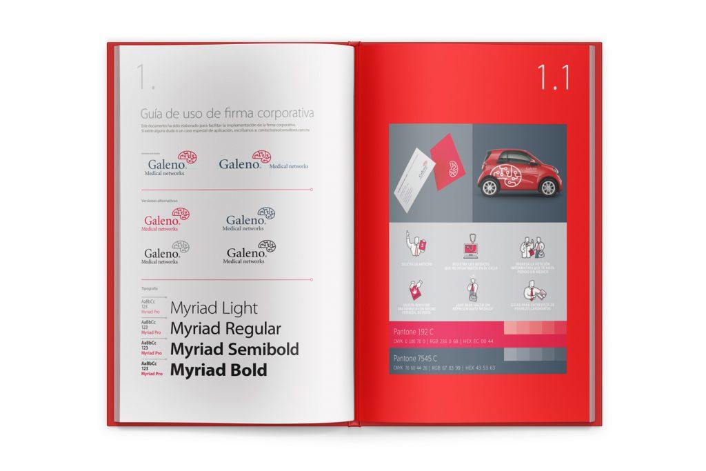 guia de marca Galeno
