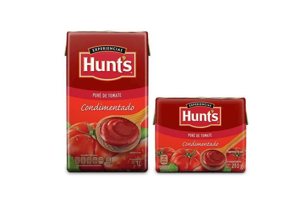 puré de tomate Hunts