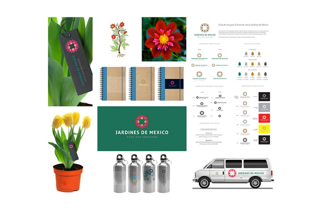aplicaciones jardines de mexico