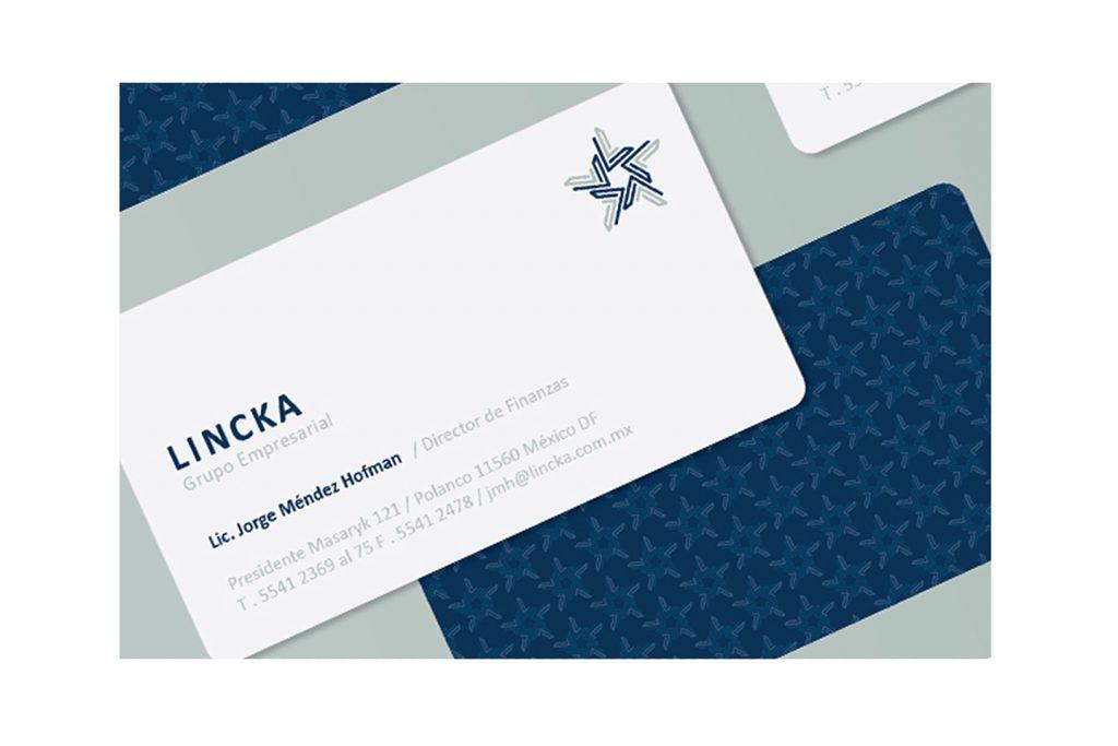 tarjetas de presentacion lincka