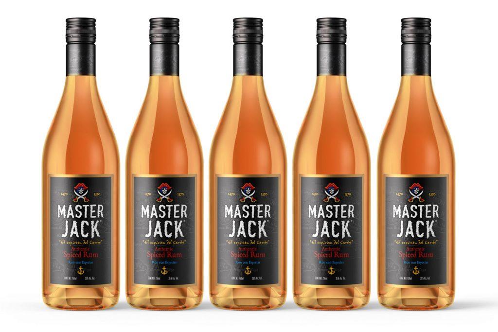 spiced rum Master Jack