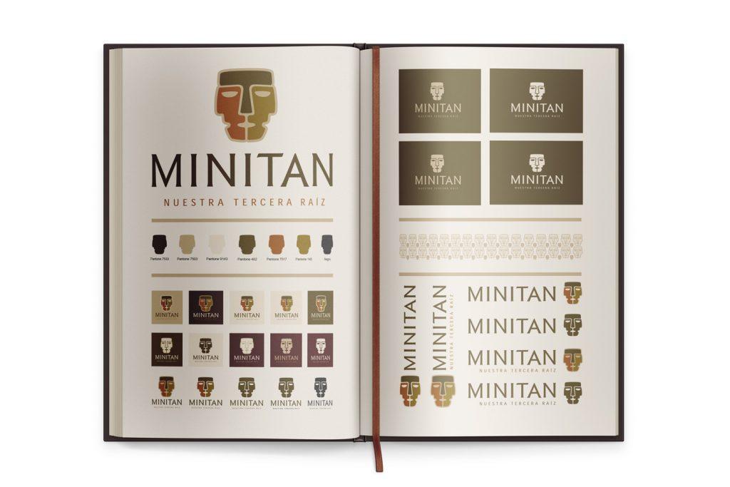 guia de marca minitan