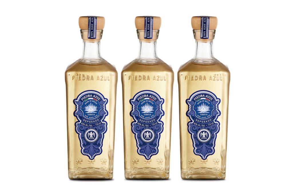 tequila reposado piedra azul