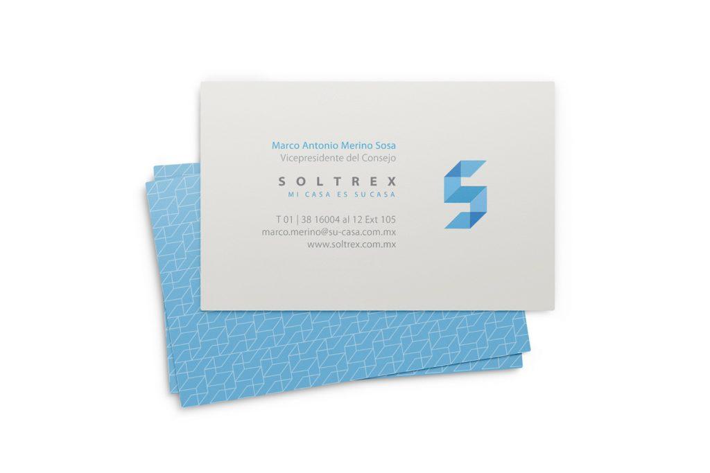 tarjetas de presentacion soltrex