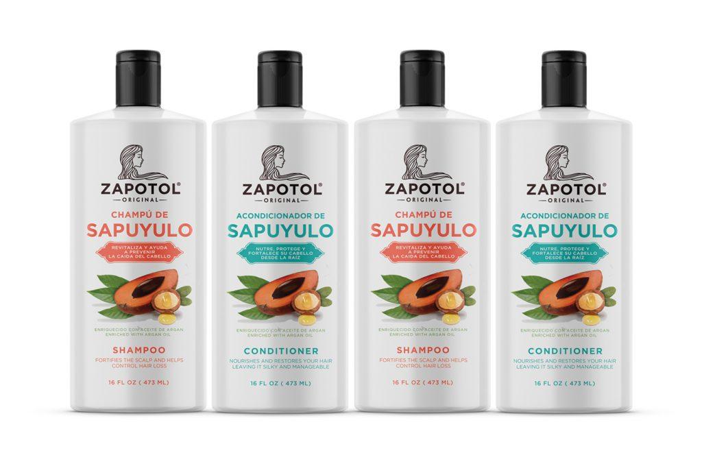 champu y acondicionador de sapuyulo marca zapotol