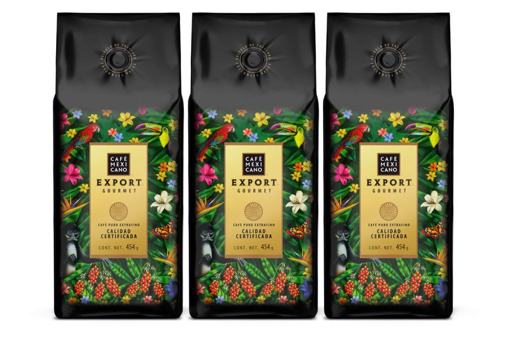 nuevo empaque cafe mexicano export