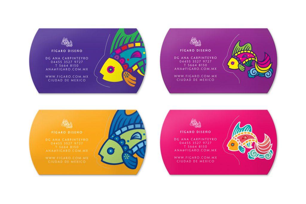tarjetas de presentacion figaro