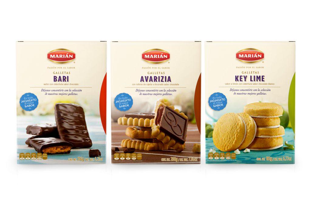 galletas bari, avarizia y key lime de Marian