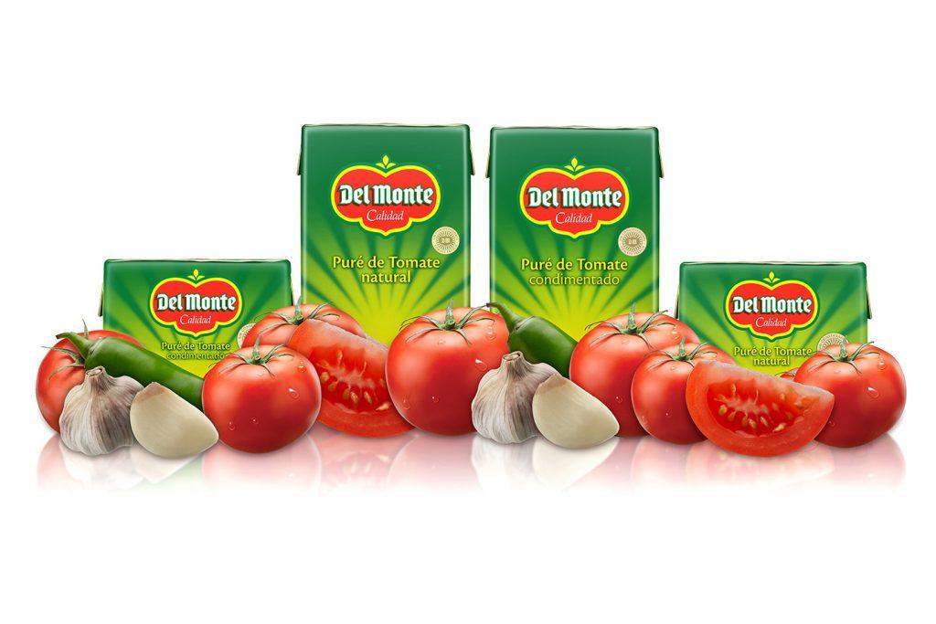 pure de tomate del monte