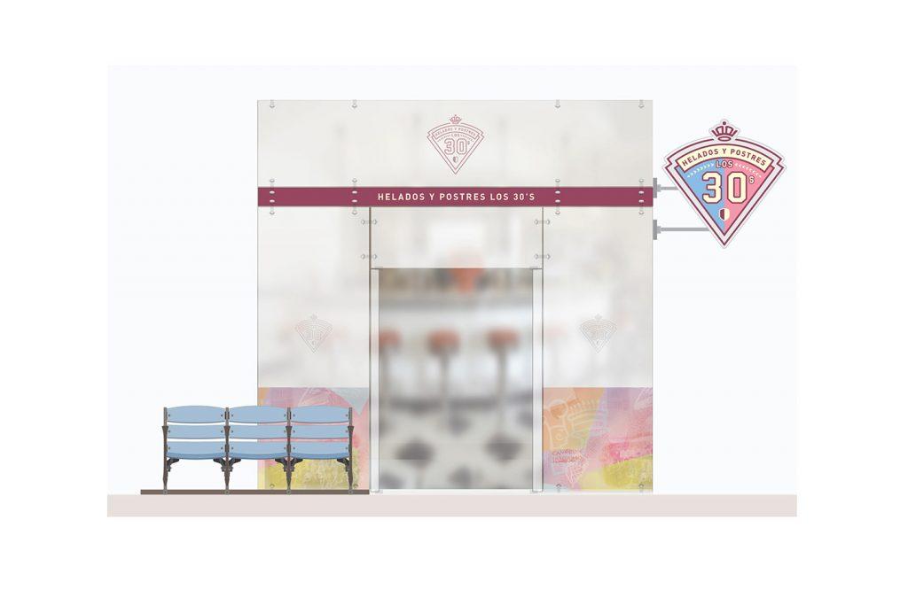 propuesta fachada helados y postres 1 de los 30s
