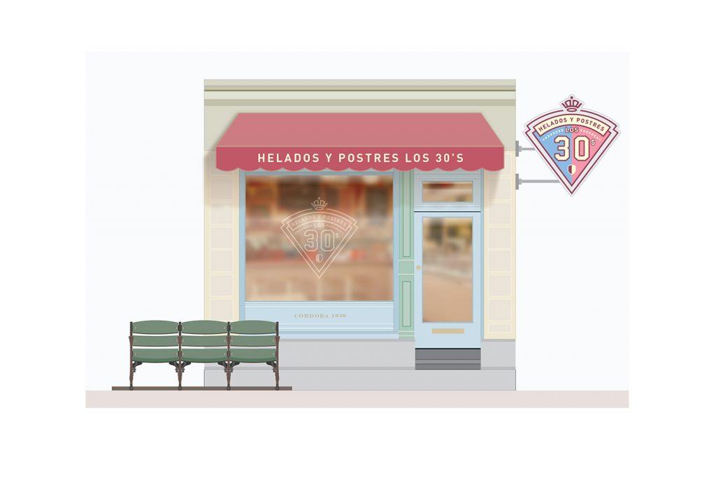 propuesta fachada helados y postres 2 de los 30s