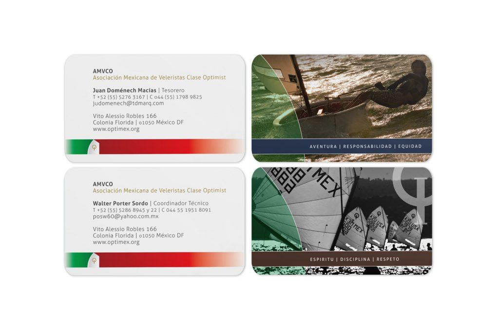 tarjetas de presentacion AMVCO