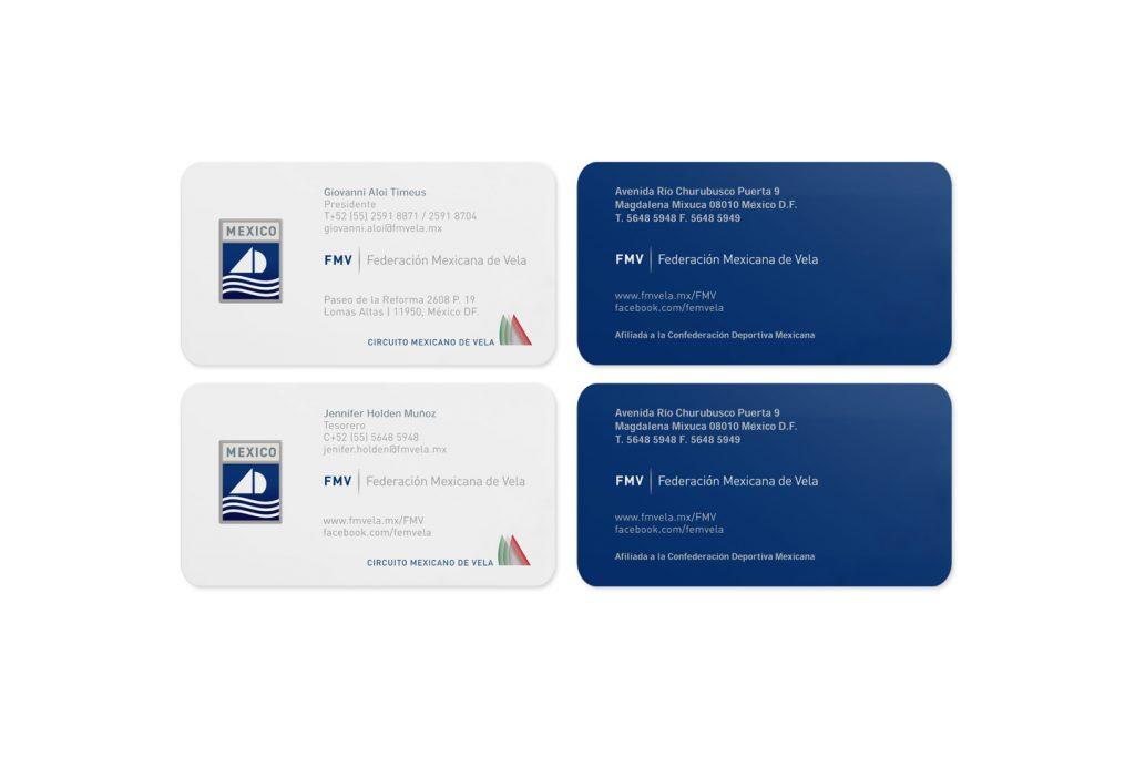tarjetas de presentación FMV